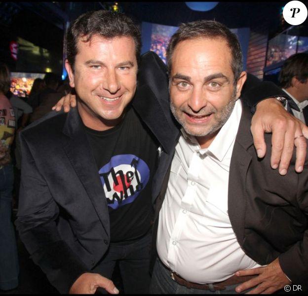 Pascal Bataille et Laurent Fontaine, à Paris, le 6 septembre 2010.