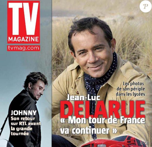 Jean-Luc Delarue en couverture de TV Mag, en kiosques vendredi 10 juin 2011.