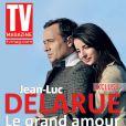 Jean-Luc Delarue et sa compagne Anissa en couverture de  TV Mag , en kiosques vendredi 25 février 2011.