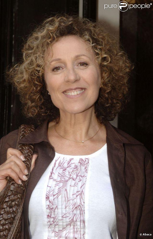 Mireille Dumas lors de la conférence de presse France Télévisions à la salle Pleyel à Paris en août 2007