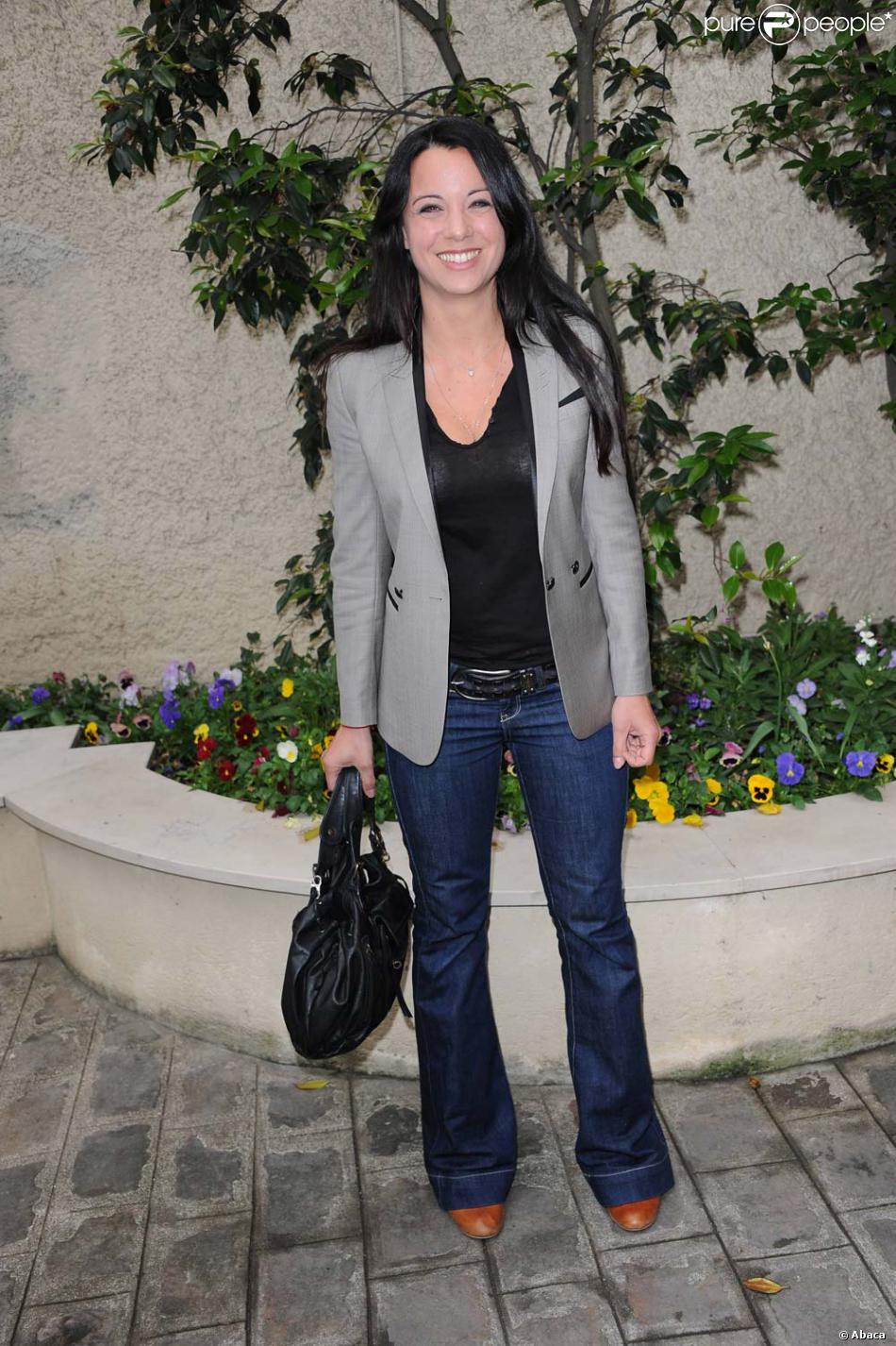 Anne ga lle riccio paris le 2 mai 2011 for Gaelle et jean dujardin