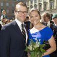 Daniel et Victoria de Suède le 6 juin 2011.