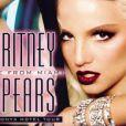 """Britney est déjà une """"femme fatale"""" sur une des affiches du  Onyx Hotel Tour  en 2004."""