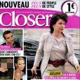 Closer et sa nouvelle formule en kiosque le 17 juin 2011