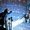 Dark Vador et Luke Skywalker dans L'Empire Contre Attaque, cinquième épisode de la saga Star Wars