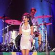 Amy Winehouse en concert à Florianopolis, le 8 janvier 2011.