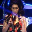 Amy Winehouse déjà inquiétante lors d'un concert à Dubaï en février 2011.