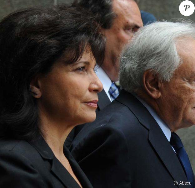 Dominique Strauss-Kahn et Anne Sinclair à l'audience du 6 juin 2011, à New York.