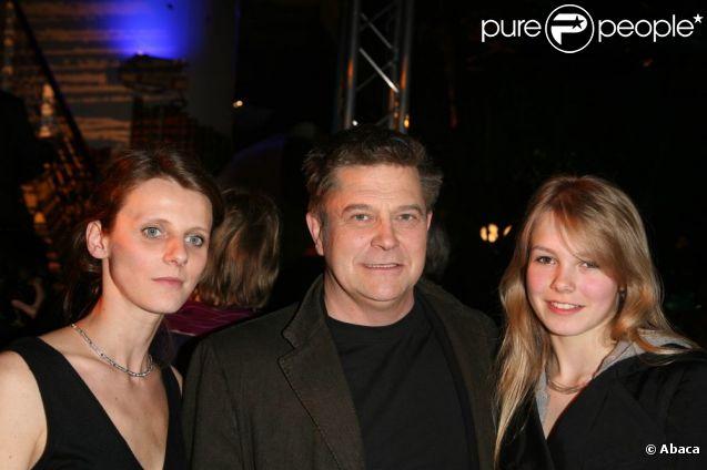 Thierry Redler et son épouse Delphine Hallier, en 2008.