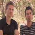 Ludovic et Samuel, lors de la grande finale de Pékin Express 6, mercredi 6 juillet sur M6.