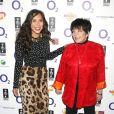 Myleene Klass et Liza Minnelli au déjeuner O2 Silver Clef à Londres le 1er juillet 2011