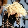 Beyoncé en plein Central Park pour  Good Morning America , le 1er juillet 2011.