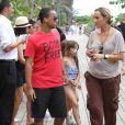 Connor, le fils adoptif de Tom Cruise, a bien profité de ce week-end en famille. Miami, 3 Juillet 2011