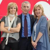 Michèle Laroque et Natacha Amal, joviales et très amies pour un bel anniversaire