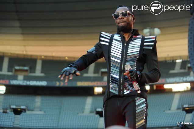 Will.I.Am au Stade de France le 25 juin 2011