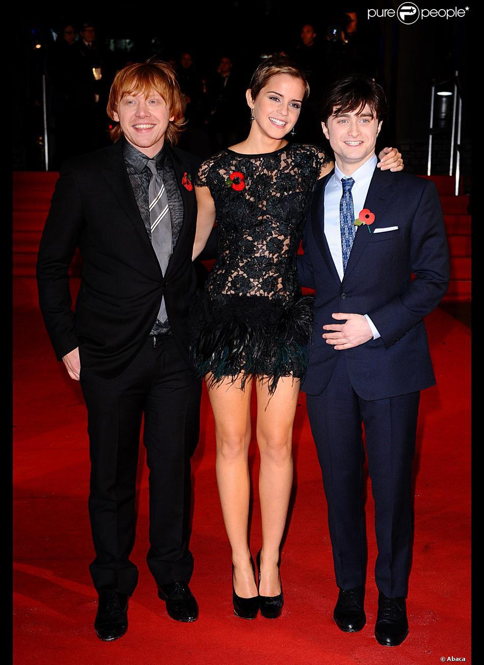 Daniel Radcliffe, Emma... Rupert Grint