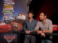 Cars 2 : Les amoureux Gilles Lellouche et Mélanie Doutey se taquinent !