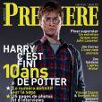 La couverture du magazine Première (juillet 2011)