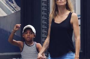 Look de la semaine : Heidi Klum face à Halle Berry et Alessandra Ambrosio.
