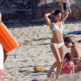 Rafael Nadal et Maria Francisca Perello profitent chaque année en juillet des plages majorquines, comme sur ces images de juillet 2007.