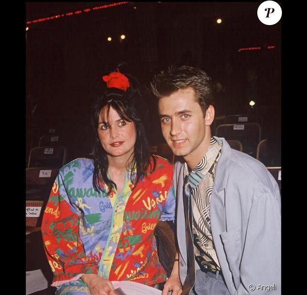 Eric Galliano avec son épouse, en 1988.