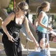 Rebecca Gayheart et sa fille Billie-Beatrice sont des adeptes des nombreux parcs de Los Angeles, pour le plus grand plaisir de cette dernière !