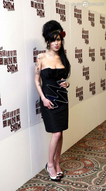 Amy Winehouse, à Londres, le 23 janvier 2007.