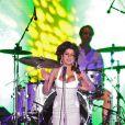 Amy Winehouse sur scène au Brésil, le 8 janvier 2011.