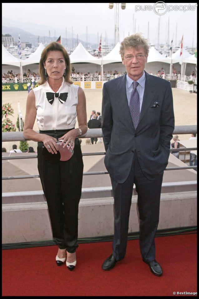 Ernst August de Hanovre et Caroline Grimaldi, à Monaco, le 27 juin 2009.