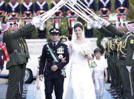 Rania et une foule de royaux réunis pour le mariage du prince Rashid et Zeina