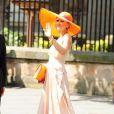 Katherine Kelly lors du mariage de Zara Phillips et de Mike Tindall, le 30 juillet 2011, à Edimbourg, en Ecosse.