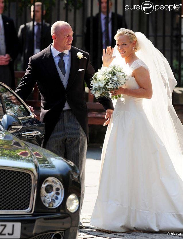 Zara Phillips et Mike Tindall se sont dit oui le 30 juillet, à Edimbourg, en Ecosse.