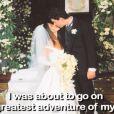 Soleil Moon Frye lors de son mariage avec Jason Goldberg dans sa vidéo promo pour son livre Happy Chaos