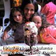 Soleil Moon Frye, entourée de ses deux filles dans sa vidéo promo pour son livre Happy Chaos