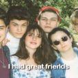 Soleil Moon Frye et ses amis notamment Brian Austin Green et Gabrielle Carteris dans sa vidéo promo pour son livre Happy Chaos