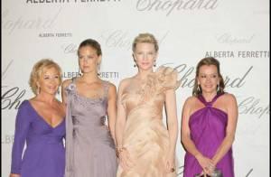 PHOTOS : Beautés et bijoux à la soirée Chopard...