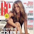 Le magazine BE, dans lequel pose Daphné Bürki et son amoureux Gunther Love.
