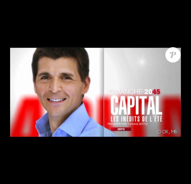 Thomas Sotto a séduit 3,7 millions de téléspectateurs lors de son premier numéro de Capital, les inédits de l'été, diffusé dimanche 7 août à 20h45 sur M6.