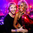 David et Cathy Guetta à la soirée F*** Me I'm Famous au Gotha Club à Cannes, le 7 août 2011