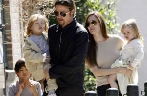 Angelina Jolie et Brad Pitt : Le couple glamour comble de bonheur ses bambins