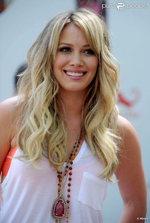 Hilary Duff est enceinte ! Ici en mai 2011 à New York