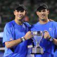 Les frères Bryan vainqueurs de l'Open d'Australie en janvier 2011