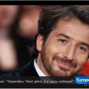 Edouard Baer et l'envie pressante de Gérard Depardieu : 'Il a voulu nettoyer'