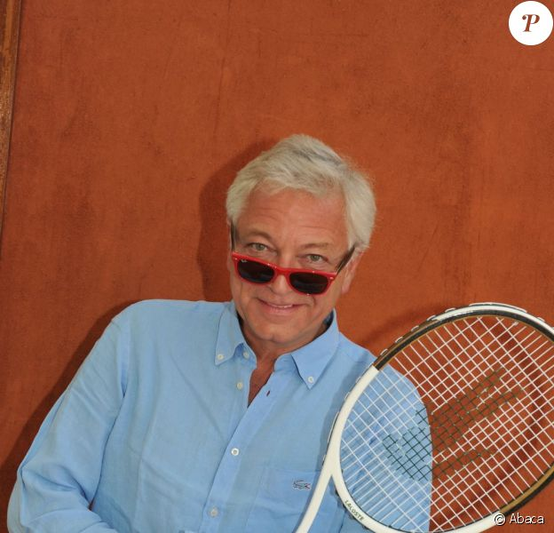 Laurent Boyer à Roland Garros en juin 2011