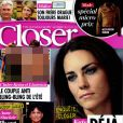 Le magazine Closer, en kiosques samedi 27 août 2011.