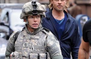 Brad Pitt, héros incontesté, sauve la vie d'une figurante !