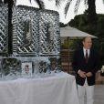 Charlene et Albert de Monaco à l'occasion du 100e anniversaire du Golf Club de Monte-Carlo, le 27 août 2011