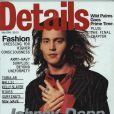 Mai 1993 : Johnny Depp pose en couverture du magazine Details.