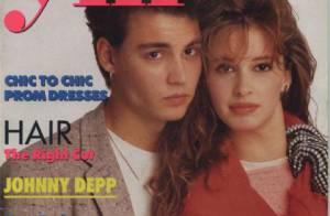 Flashback : Les débuts de Johnny Depp, ses premières couvertures
