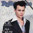 Johnny Depp, en couverture de Rolling Stone pour son numéro de janvier 1991.